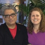 Deepak Chopra and Michelle Goebel