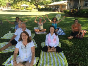 Michelle Goebel Teaches Meditation at Hawaii Retreat